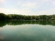 Quarry Lake, Harrington State Park, WI