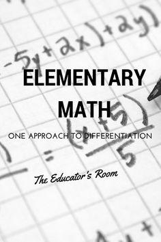 288 best math images albert einstein childhood albert einstein Basketball Coach Family elementary math one approach to differentiation