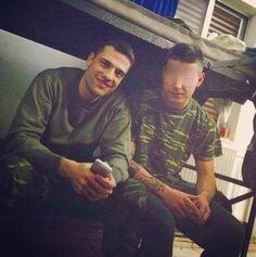 Ακόμα μια φωτογραφία του Κωνσταντίνου Αργυρού από το στρατόπεδο