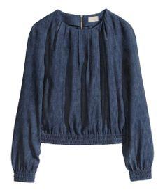 H&M Jacquard-Weave Blouse - Love Trend!!