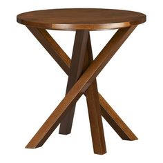 """Cute """"twisted"""" side table"""