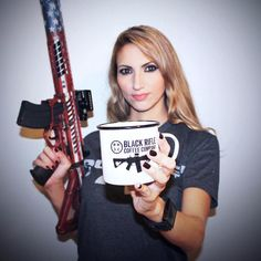 """Black Rifle Coffee Company on Instagram: """"@liberteaustin would like to say good morning. . . . . #coffee #coffeetime #blackriflecoffee #guns #instagood"""" Black Rifle Coffee Company, Coffee Time, Morning Coffee, How To Order Coffee, Good Morning, T Shirts For Women, Sayings, People, Guns"""