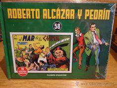 ROBERTO ALCÁZAR Y PEDRÍN. TOMO 58. EDITORIAL PLANETA - 2010 / PRECINTADO