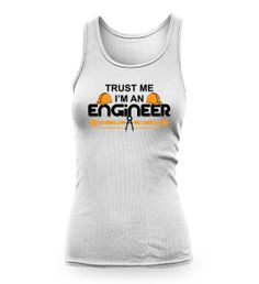 "For Women in #Engineering - ""Trust Me I'm an #Engineer"" .Women T-shirt and Tank Top Get it from here https://fabrily.com/TrustMeImAnEngineerTee Please share these tees with all women in engineering - You can Tag their name in comments How many share for Women in Engineering ? http://engineeringwall.com/blog/trust-me-i-m-an-engineer-tees"