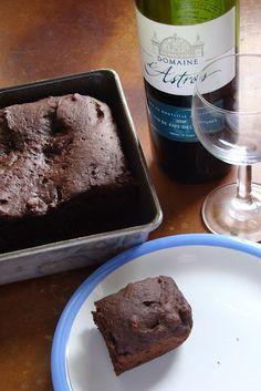 Chocolate Red Wine Cake (gluten free, dairy free)