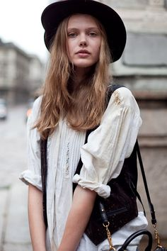 Totally me, minus the hat.  Frida Gustavsson