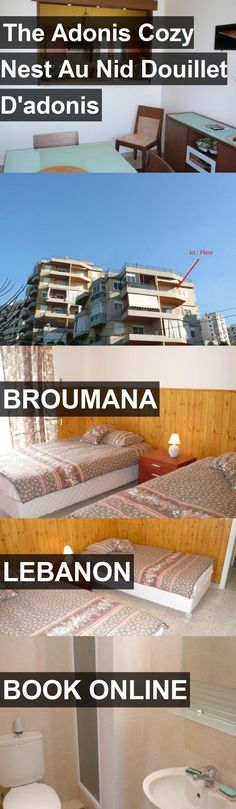 Hotel The Adonis Cozy Nest Au Nid Douillet D'adonis in Broumana, Lebanon. For more information, photos, reviews and best prices please follow the link. #Lebanon #Broumana #travel #vacation #hotel