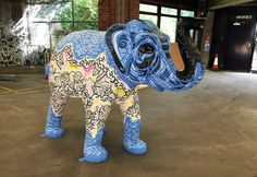 Geo Law is an illustrator in Sheffield, specialising in doodling office mural art works and graphic prints All About Elephants, Office Mural, South Yorkshire, Mural Art, Sheffield, Pretty Pictures, Graphic Prints, Old And New, Geo