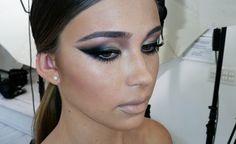 Natasha Denona finally reveals how to create her dramatic cat eye makeup look: The SMOKY EYELINER