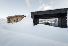 Image 18 of 48 from gallery of A Hotel at High Altitude / noa* network of architecture. Photograph by Alex Filz South Tyrol, Architecture Photo, The Expanse, Gallery, Building, Places, Outdoor, Design Art, Photograph