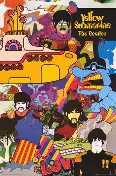 Yellow Submarine. The first movie I saw in a theater as a kid. That explains some things....