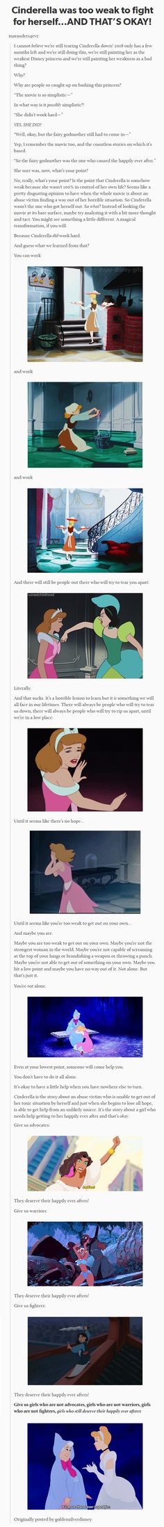 Waste So Much Time This. Cinderella was and still is my favorite Disney Princess, and this pretty much sums up why. Disney Facts, Disney Memes, Disney Quotes, Disney Love, Disney Magic, Disney Stuff, Disney And Dreamworks, Disney Pixar, Mbti