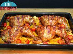 Pollo Chicken, Turkey Chicken, Chicken Potatoes, Tandoori Chicken, Roasted Turkey, Roasted Chicken, Turkey Recipes, Chicken Recipes, My Favorite Food