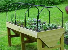 Useful for protecting crops or even modifying as a mini green house.