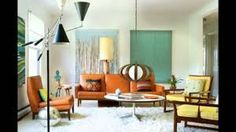 Image result for how to decorate a mid century modern living room