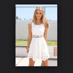 dress fashion clothes girly white cute summer outfits tumblr tumblr girl summer dress drsss white dress cute dress headband floral vintage drss