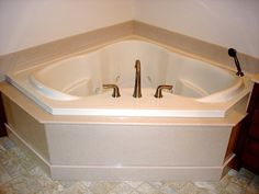 Tub Surround, Whirlpool Bathtub, Bath Design, Arrow Keys, Close Image, Corner Bathtub, Baths, Bathroom Ideas, Gallery