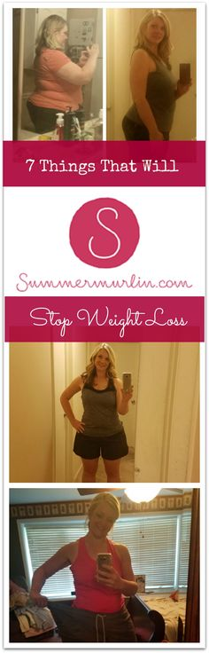 7 Things That Will Stop Weight Loss!!!