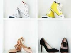 Locker oder elegant? Schlicht oder glamourös? Welche Schuhe bevorzugst du am liebsten? Finde mit Hilfe des Quiz heraus, welcher Schuh-Style dir besonders gut steht!