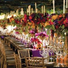 Outdoor weddings are trendy for a reason, and it's high time to embrace the outdoor fall wedding. The best weather and the best day sounds like a recipe for a wonderful wedding.