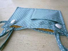 """even artichokes have hearts"": i am hand-made: detachable pocket"