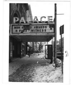 "Palace Theater, Pittsfield, MA Went to see ""To Sir with Love"" at this place with my Mom and Brother xx"