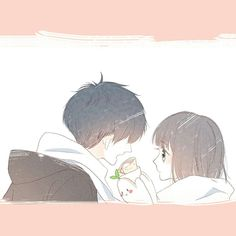 Page 2 Read [Con Tim Rung Động] from the story Ava đôi ♡♡ by (w o n t a n u k i) with 637 reads. Chibi Couple, Anime Love Couple, Cute Anime Couples, Manga Anime, Anime Art, Anime Girlfriend, Manga Romance, Cute Couple Wallpaper, Tamako Love Story