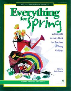 After the winter holidays and activities, every teacher is ready for something new. Experience the joy and wonder of springtime with ideas for every day of March, April, and May. All activities and ideas are drawn from Gryphon House's most popular resource books.