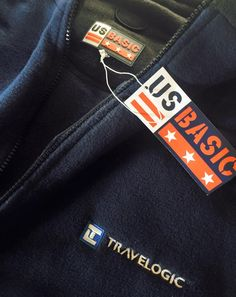 #branded #fleece #jackets done for Travellogic