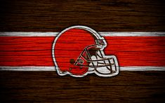 American Football, Cleveland Browns Logo, Cleveland Ohio, American Conference, Nfl Logo, Wooden Textures, Football Wallpaper, Hd Picture, Stained Glass Patterns
