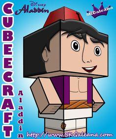 Disney Cubeecrafts