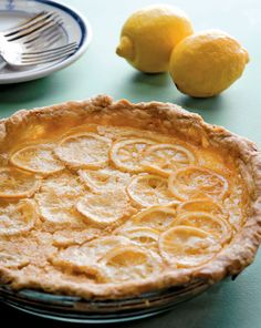 Shaker Lemon Pie Recipe - Food - GRIT Magazine
