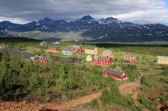 Old mining town, Jakobsbakken, Fauske, Norway