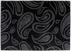 PAISLEY Designer Teppich CO-DESIGNERS Sonderanfertigung auf Wunschmaß kaufen im borono Online Shop