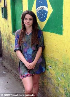 Billie JD Porter into Brazil