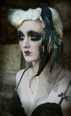 Raven Hair Piece. TwoTwentyTwoClothing. #Fantasy GET LISTED TODAY!!!    It's easy, it's quick, it's simple.    The most comprehensive directory for you the professional, and your clients.    http://www.hairnewsnetwork.com/