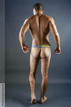 Jockstrap Central model Farzad in a Baskit (De)Luxe Jockstrap