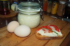 """""""Ekspresowa """" pasta jajeczna - Ogrodnik w podróży"""