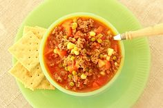 Lunchroom Ladies (Recipe: School Lunchroom Hamburger Soup)