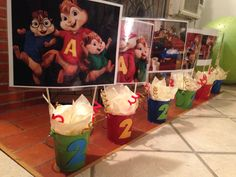 Alvin and the chipmunks 2nd birthday party theme