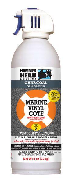 Charcoal Marine Vinyl