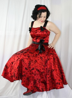 Hell Bunny Bridesmaid dress, I think yes, or I'll wear it <-- I am in agreeance!