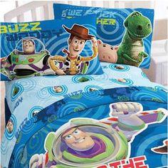 Music Memorabilia Cartoon Woody Print Beddings Duvet Cover Set Disney Toy Story Bedlinens Boy Children Room Decor 100% Cotton Pillow Cover Exquisite Craftsmanship;