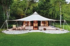 Amanwana, Indonesia - Best hotels in the world | Gold Standard hotels 2015 (Condé Nast Traveller) Auto Camping, Camping Glamping, Camping Ideas, Outdoor Camping, Tent Living, Outdoor Living, Camping Con Glamour, Eco Cabin, Luxury Tents