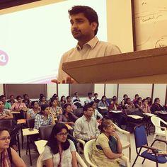 #Seminar on #EWaste #ElectronicWaste #Disposal #Management at #RUIA College Mumbai... #Representing #EIncarnationRecycling