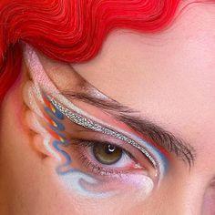 Listen to your tools when they speak to you Eye Makeup Art, Cute Makeup, Pretty Makeup, Beauty Makeup, Hair Makeup, Crazy Makeup, Cheap Makeup, 60s Makeup, Makeup Goals