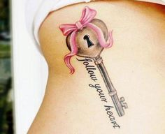 Top 15 Key Tattoo Designs