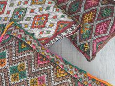 berber kilim. cojines marroquíes