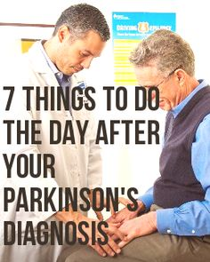 Just diagnosed with Parkinson's disease? A Michael J. Fox Foundation guest blogger shares what you should do next.