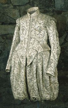 Coronation outfit of Gustav II Adolf of Sweden, 1617.  Royal Armory and Hallwyl Museum.